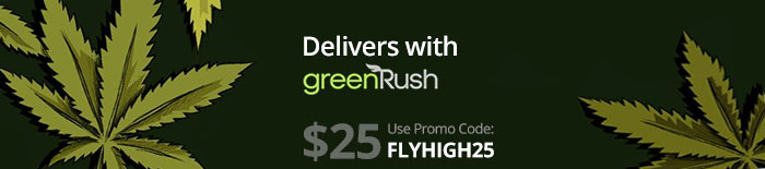 GreenRush On-Demand Weed Dispensary