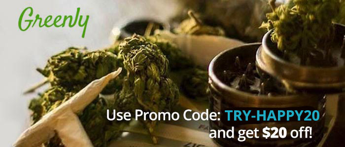 Greenly Promo Code: Get $20 off and read our Greenly Weed Review! GreenlyDelivery