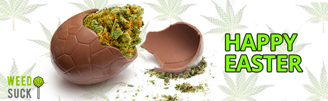 Happy Easter from WeedSuck: Get your Easter Weed Delivered!