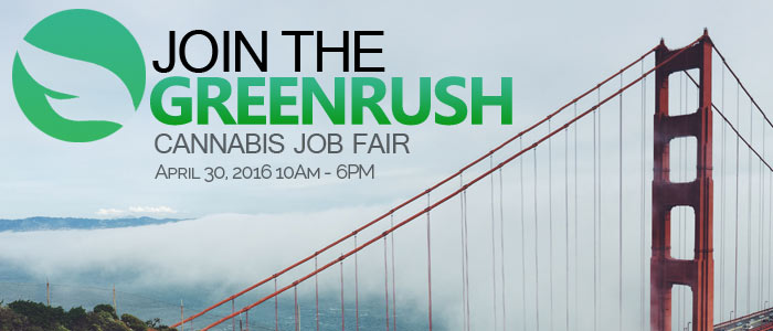 Join the GreenRush: Come check out the Cannabis Job Fair