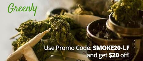Greenly Promo Code: Get $20 off and read our Greenly Weed Review! @GreenlyDelivery