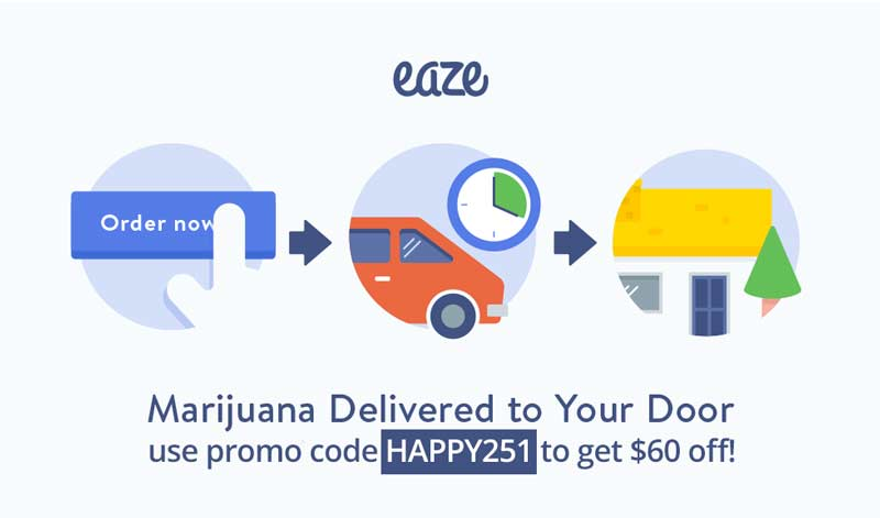 Eaze Discounted Vouchers
