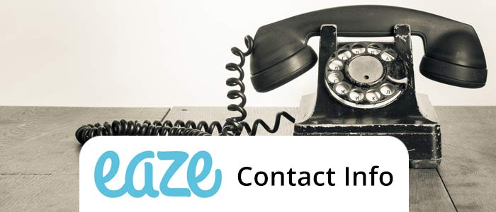 Top 5 ways to contact Eaze up