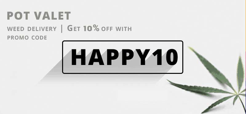 Use my Pot Valet Promo Code HAPPY10