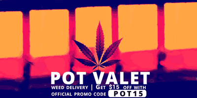Use my Pot Valet Promo Codes for overnight weed delivery