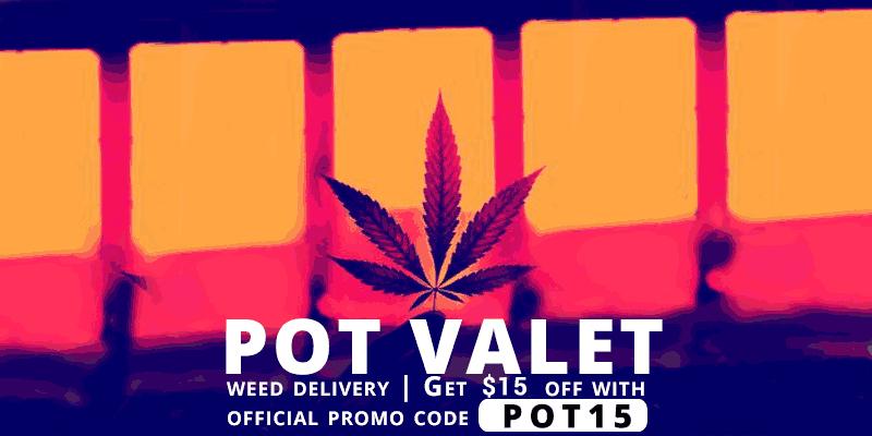 Get 15% off your marijuana order with Pot Valet Promo Code POT15