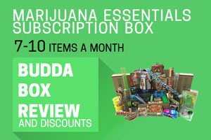 Order your weed accessories with the BuddaBox