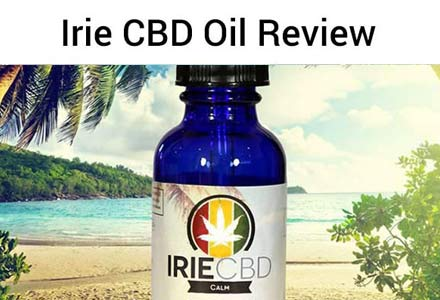Try Irie CBD Hemp Oil and get 20% off your order
