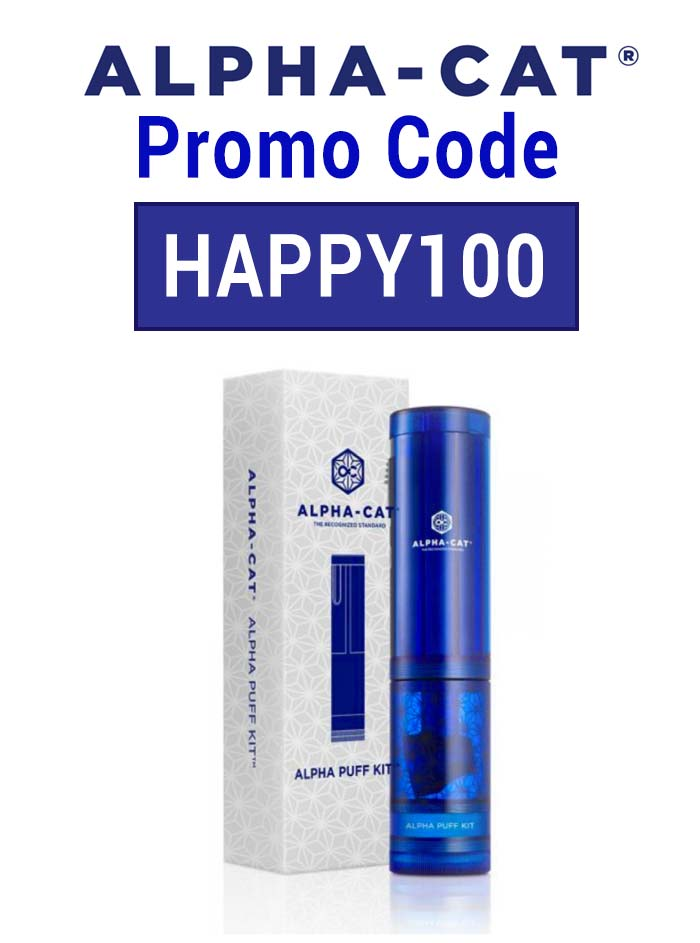 Alpha Puff Promo Code: Get 10% off with the code HAPPY100