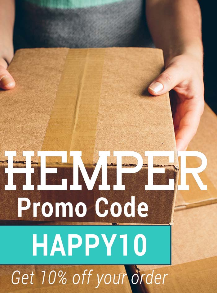 Hemper Promo Code: Use HAPPY10 for 10% off your order!