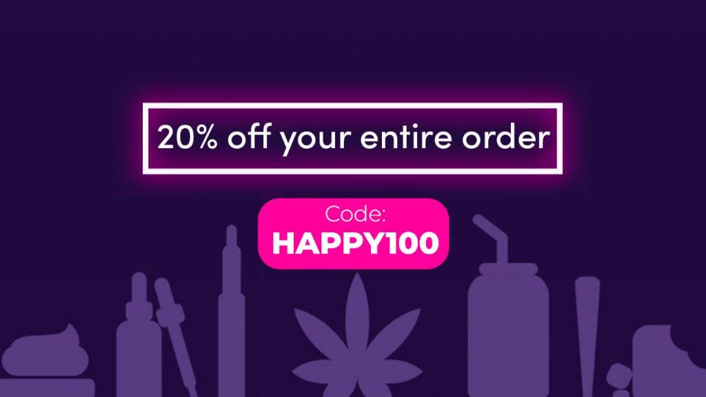Amuse Weed Promo Code | 20% off: HAPPY100
