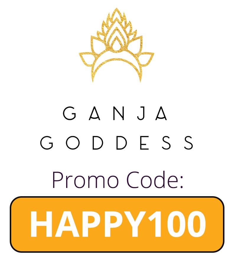 Ganja Goddess Delivers Promo Code: HAPPY100